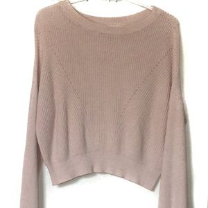 Garage Blush Pink Sweater